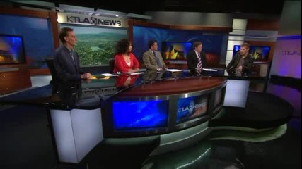 Джоузеф Морган в Ktla Morning News