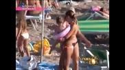 Ana Nikolic - Na plazi - Paparazzo lov - (TV Pink 2012)
