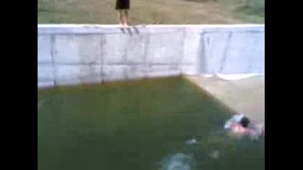 Скок на 5 м. дълбочина