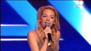 Сладураната Лилия Андреева изуми журито и публиката - The X Factor Bulgaria 2014