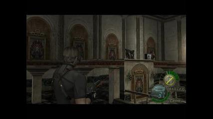 Resident Evil 4 - Лион и досадната Ешли - 2 част