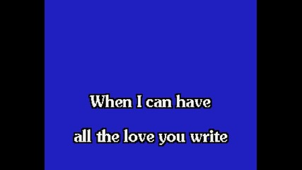 Elvis Presley - Love Letters (karaoke)