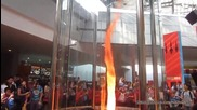 Изкуствено предизвикано торнадо от огън