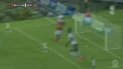 Рийс Джеймс с гол срещу Ла Галакси /приятелски мач - 23.07.14/