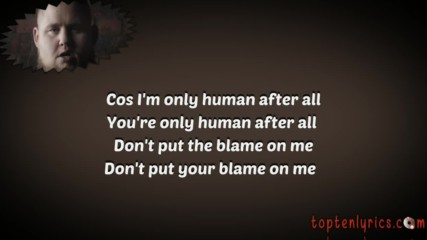 /prevod/ Ragnbone Man - Human - Lyrics