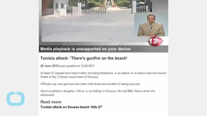 VIDEO: 'There's Gunfire on the Beach'