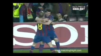 Барселона 2 – 0 Щутгарт гол на Месси