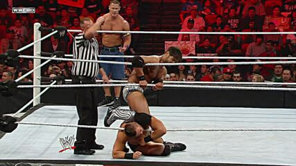 John Cena & The Miz vs. The Corre – WWE Tag Team Title Match: Raw, Feb. 21, 2011 (Full Match)