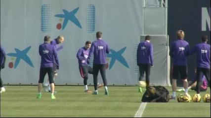 Сандро и Мунир могат да запишат минути срещу Малага