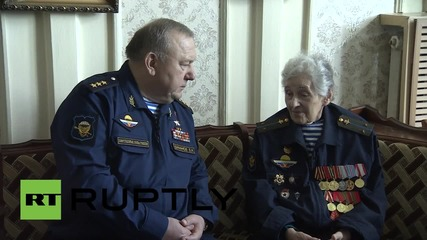 Russia: 93-year-old WWII veteran awarded 'Order of Army General Margelov'