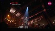(hd) ~ Bg Subs ~ Kim Jeong Hoon - Heart for one person ~ Music Triangle (17.10.2012)