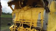Инцидент с камион превозващ жълта боя . Шофьорът е яко маркиран !!