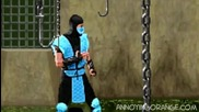 Досадния портокал срещу Mortal Kombat (много Смях)