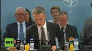 Belgium: NATO talk Ukraine crisis on day two of Brussels meeting