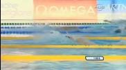 Аарън Пиърсъл Печелели Златен Медал,  200 Метра Гръб,  ( Световно Първенство По Плуване,  Рим 2009 )