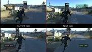 Видео от Metal Gear Solid V: Ground Zeroes сравнява различните платформи