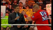 wwe John Cena vs Alberto del Rio machist part:1-2
