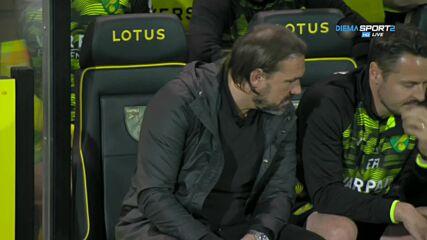 Минамино даде аванс на Ливърпул срещу Норич