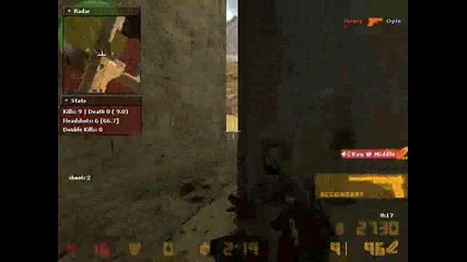 Counter - strike 1.6 - 2 rounds with 666 hack