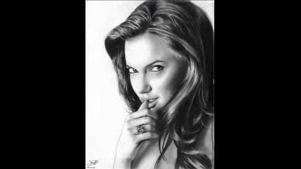Рисунки На Angelina Jolie