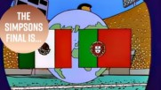 Did the Simpsons predict the 2018 World Cup final?