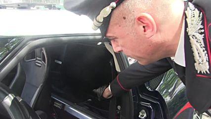 Italy: Police show off life-saving Lotus Evora supercar for organ transfers