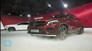 Mercedes-Benz GLC Coupe Sketches Out