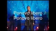 Zeljko Joksimovic- Libero tekst - Prevod
