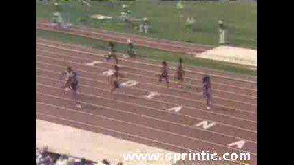 Wr 100м.florence Griffith - Joyner - 10.49sec