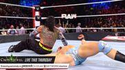 Jeff Hardy snaps a selfie over a fallen Austin Theory: Raw, Oct. 18, 2021