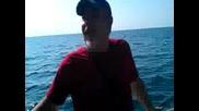 Понко преплува 7 км от Несебър до Св. Влас еп. 06