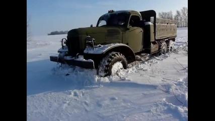 Зил-157 - няма какво да спре Руската мощ!