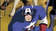 Отмъстителите: Най-могъщите герои на Земята / Капитан Америка, Тор и Черна Пантера срещат Видението