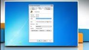 Windows® 7: Open windows maximized
