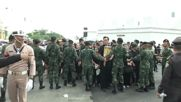 Thailand: Mourners line up in Bangkok as King's body is transferred to Grand Palace