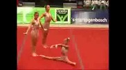 Еп По Акробатика 2007 - Женска Тройка Бълг.
