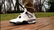 Преглед на Оригинални Маратонки - Nike Air Jordan White Cement 4 Iv