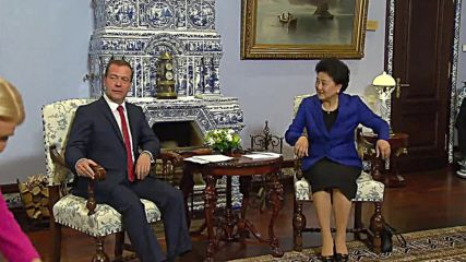 Russia: Medvedev and China's vice premier meet to discuss humanitarian cooperation