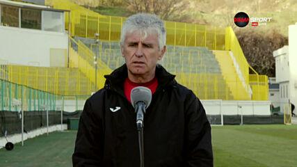 Иван Колев: Вината е моя, вярвам на играчите