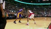 N. B. A. Kobe Bryants - Reverese Scoop Shot