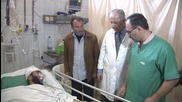 Syria: Military hospital reports 50% drop in casualties since ceasefire