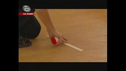 Dancing Stars 1 Епиэод Kalki and Valentina