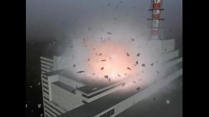 Чернобил, експлозията на реактора