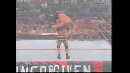 Wwe - Triple H Vs Goldberg - World Heavyweight Championship.