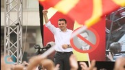Macedonia's Embattled Leader Rallies Supporters in Show of Force