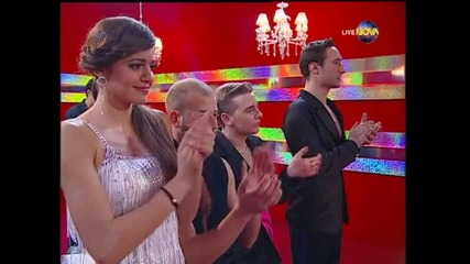Dancing Stars - Албена Денкова и Калоян танц по четворки (27.05.2014г.)