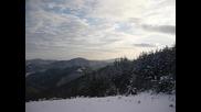 В околността около Златоград - на връх Косора Зима 2010