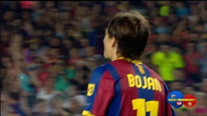 Fc Barcelona Vs Ac Milan 1 - 1 [penalties 3 - 1] Goals