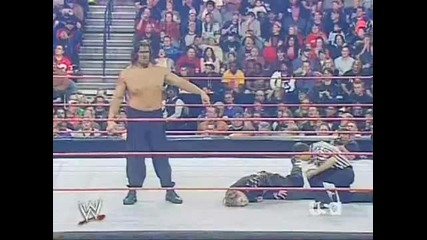 jeff hardy vs the great khali