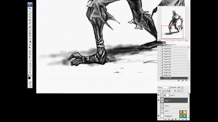 Zombie Sketch - Speed Drawing